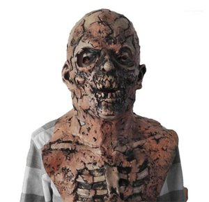 Costume Accessories Halloween Scary Men Mask Fashion Latex Zombia Unisex Mask Resident Evil Mask