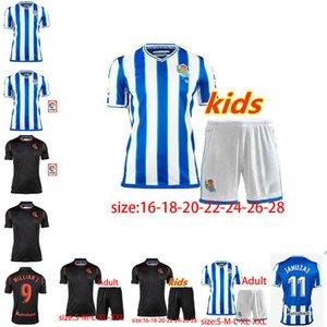 2020 Real Sociedad de Fútbol Jersey 20 21 Real Sociedad de Fútbol OYARZABA Shir Thome X.PRIETO CARLOS JUANMI Fútbol tamaño ventas uniformes: 16-XXL