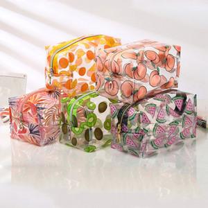 Jason-Многофункциональный водонепроницаемый прозрачные Косметические Симпатичные сумки чехол для хранения макияжа Организатор Clear Case туалетной сумка ПВХ Zipper Путешествие