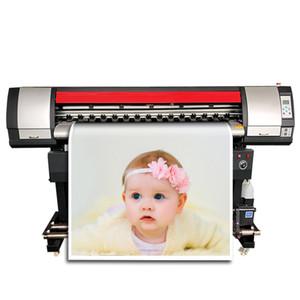Double Printhead Xp600 Industrial Poster Printer Pvc Sticker Printing Machine High Resolution 1440Dpi Eco Solvent Plotter