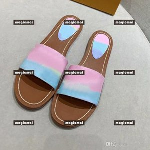Women Slippers Designer Flip Flop High Quality Shoes with Box Fashion Women Sandals Colorful Open Toe Shoes with Original Box