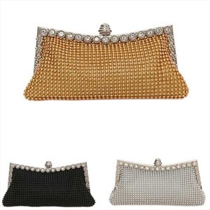 Evening Bags New Arrival New Fashion Handbag Czech Drilling Package Dinner Bag Handbag Party Dress Clutch Bags