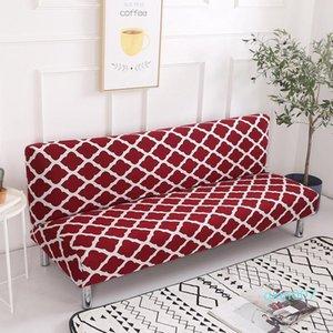 Sin reposabrazos tapas ajustadas Wrap antideslizante para sofás cama 155-200cm Funda De Sofá Tres Plazas Sofá seccional Cubiertas