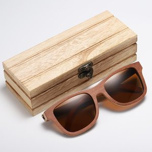 GM Skateboard Wood Sunglasses Men Women Handmade Natural Wooden Polarized Sunglasses New With Creative Wooden Gift Box S832