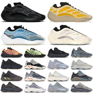 Kanye west homens mulheres tênis 700 reflexivo Wave Runner Utility preto Azael Alvah Vanta Hospital azul mens formadores tênis esportivos de moda