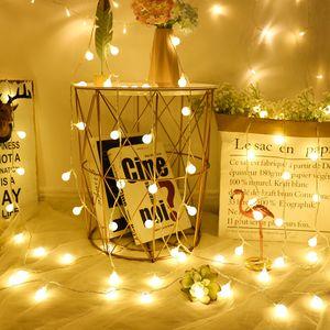 Cerise boule de lumière Décor Joyeux pour 1m / 3m Accueil Décorations de Noël Arbre de Noël Cadeaux Pendentifs Nouvel An 2020