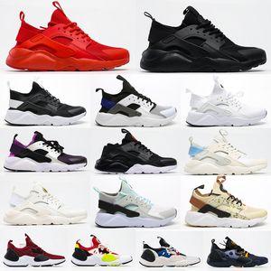 2021 Nouveau Huarache Ultra Shoes 1 4 7 9 Hommes et femmes Huaraches Huaraches Sneakers Cancer du sein Hautaches Chaussures de course Taille 36-45