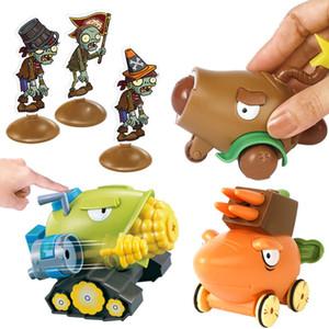 Растения против Зомби инерционной Стрельбы игрушки Коба Cannon / Кокосового Cannon / Моркови запуска в подарочной упаковке