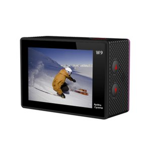 W9 2 inch Screen Wifi Version Camera 30M Waterproof 1080P FHD Extreme Sports Mini DV Diving Video Camera with free shipping