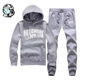 miliardario di BBC del club ragazzi mens pista progettista felpa con cappuccio hip hop vestito tuta da jogging autunno inverno BBCY1 calda degli uomini Pullover superiore + pant