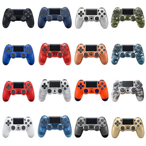 in magazzino PS4 controller wireless di alta qualità Gamepad 22color PS4 barra di comando del regolatore del gioco di trasporto