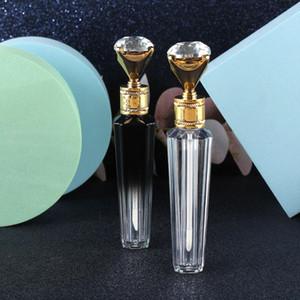 Hot 1 / 5pcs Cap Diamante 3ML Plástico Lip Gloss tubo DIY Lip Gloss Containers garrafa vazia maquiagem cosméticos ferramenta Container Organizer