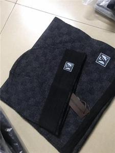 1988 Hot New высокого качества мужчины и женщины ДИЗАЙНЕРОВ H шарф наборов Теплых европейские элитного бренд Hat шарф модных аксессуаров
