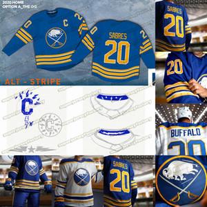 Buffalo Sabres 2020 21 Return To Royal Blue Jack Eichel Victor Olofsson Jeff Skinner Rasmus Ristolainen Rasmus Dahlin SABRES Jerseys