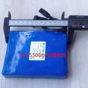 24V 5AH 7S2P 5500mah 소형 모터 150W 로봇 오디오 어린이 장난감 자동차에 대한 18650 리튬 이온 배터리 팩 29.4v 5000MAH 리튬 Batteria