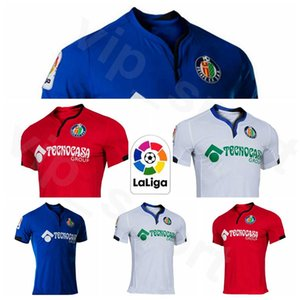 2020 2021 de futebol FC Getafe Jersey 7 MATA 9 ANGEL 23 MOLINA 15 CUCURELLA 22 DAMIAN 24 Kenedy 24 TIMOR Futebol shirt Kits