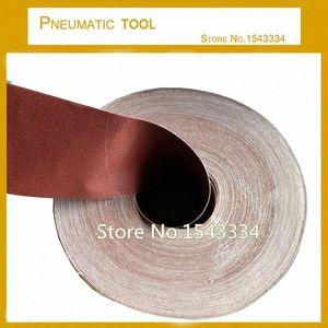 10meters cerca de 100 mm Ampla Emery pano rolo para moagem polir metais Dremel Acessórios zYIB #