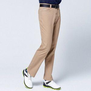 Automne Hiver coupe-vent hommes Pantalons de golf épais garder au chaud Pantalon long haute stretch Cadrage en pied Pantalon de golf Vêtements D0651 JwEg #