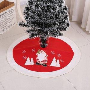 크리스마스 트리 트리 스커트 장식 보석 앞치마 공급 앞치마 크리스마스 자수 하이 엔드 스커트 YFkJz