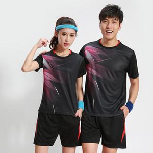 Badminton roupas das mulheres / homens rápidos de mesa seco roupas de tênis Sports Tennis terno badminton desgaste sets 3070