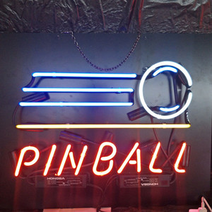 PINBALL Neon Sign Light Outdoor Bar Club Display Entertainment Decoration Neon Lamp Light with Acrylic Backing
