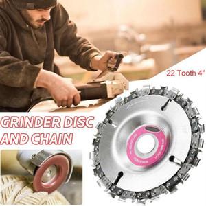 """Avuç Taşlama için Zincir Plakalı Açı Taşlama Zincir Tekerlek Ahşap Oymacılığı Disc Ağaç Dropship 16mm 3/5"""""""