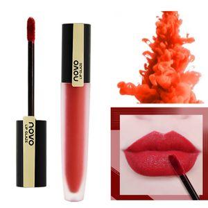 Wholesale 6 Color Water Mist Matte Lip Glaze Natural Long-lasting Color Moisturizing Nourishing Lips Beauty