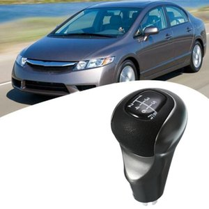 6 Speed MT Car Gear Shift Knob Stick Ball Head Change Lever Knob for Honda Civic DX EX LX 2006-2011 54102-SNA-A01