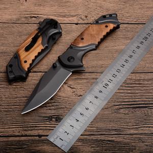 Бесплатная доставка x49 Browning нож из нержавеющей стали Складной карманный нож лезвия деревянной ручкой Портативный EDC кемпинга Весна Assisted Sharp Knife
