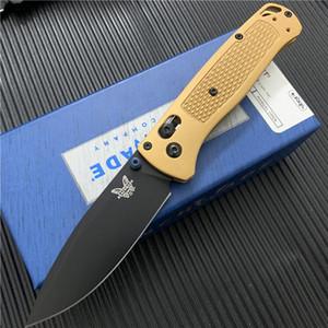 "Quality BENCHMADE BM 535S Bugout AXIS Folding Knife 3.24 ""S30V Black Plain Blade TC4 Handle BM940 BM42 A07 BM535 Butterfly knife"