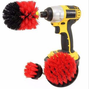 Power Scrub Brush Cleaning Brush 3 pcs lot For Bathroom Shower Tile Grout Cordless Power Scrubber Drill Attachment Brush W9955100p