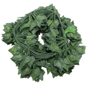 AYHF-12 x artificial plants of vine false flowers ivy hanging garland for the wedding party Home Bar Garden Wall decoration Outd