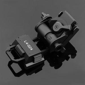 L4G24 Support rapide Mont Casque Breakaway base pour PVS15 / PVS18 lunettes de vision nocturne