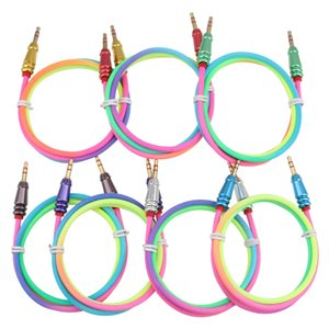 1M Gold Plated Plug 3.5mm Aux Cable Male to Audio Line For Car MP3 MP4 Headphone Speaker