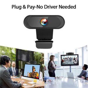 Otomatik Odaklama Webcam Full HD 1080P Bilgisayar Web Kamerası ile Mic İçin PC Çevrimiçi Öğrenme Canlı Yayın WebCamera