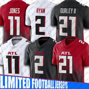 21 Todd Gurley II 2 Matt Ryan Jerses 11 Julio Jones Jersey 18 Ridley AtlantaFalconsTrikots 24 Devonta Freeman Fußballjerseys