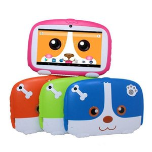 Kids Brand Tablet PC 7 inch Q18 Quad Core A50 1024*600 HD screen Android 9.0 AllWinner A50 Real 1GB + 16GB with Bluetooth-4