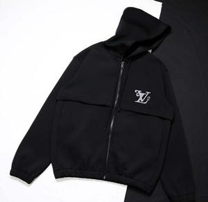 20FW LOGO bestickte Pullover mit Kapuze 3M Reflexkapuzenjacke Hoodies Männer Frauen Straße Pullover Paar Lässige Straße im Freien s