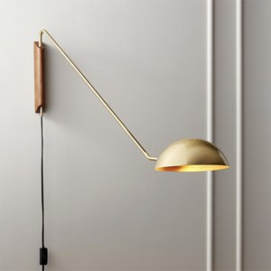 Nordic loft living room wall lamp creative wood art duck mouth design bedroom bedside coffee shop bar decoration led wall sconce