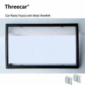 2 Din Car Fascia rádio para carro Radio 7018B 7010B 7200C 7652D 7010G 7018G Instalação guarnição Fascia Face Plate Panel DVD Quadro tD54 #