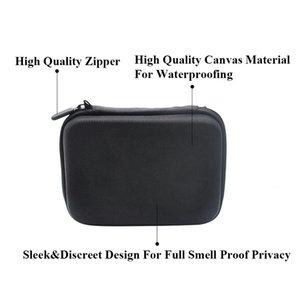 12pc Tobacco Bag Set Plastic Smoking Herb Grinder Storage Jar Metal Tin Silicone Smoking Pipe One Hitter Dugout Rolling Machine GGA3745-4
