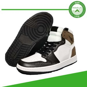 chaussures d'or noir métallique de basket-ball JO Travis Scotts Spiderman UNC top 3 Hommes Hommage à Home Royal Bleu Hommes Sport Baskets Sneakers
