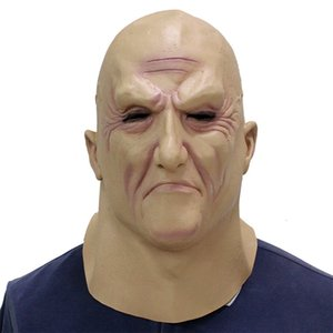 Boss Under Scary Voll Latex Halloween Horror Lustige Cosplay Partei-Maske Old Man Head Helm Masken