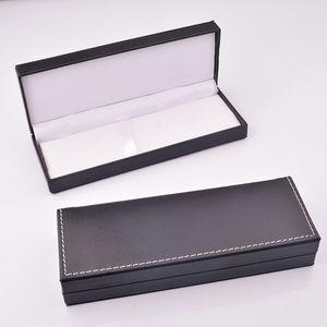 Pu Leather Pencil Box Gift Box Packaging Business Gift Pen Case Accept Custom Logo [diy Logo>50]