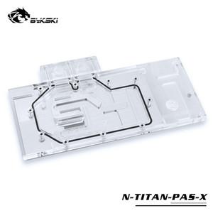 Bykski N-TITAN-PAS-X Gpu Water Cooling Block Use for NVIDIA GTX TITAN XP X-Pascal  GTX1070 1080 1080TI Founder Full Cover Block
