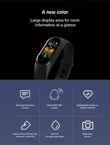 "Smart-Armband für Xiaomi Mi Band 5 1.0"" AMOLED-bunter Schirm Herzfrequenz Fitness Tracker Bluetooth 5.0 Fitbit Wasserdichtes Miband5"