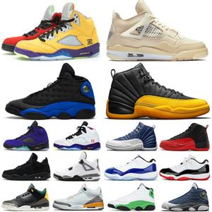 Nike Jordan 1 AJ1 1 s ayakkabı En Yüksek OG Oyunu Kraliyet Yasaklı Gölge Bred Toe Basketbol Ayakkabıları En Kaliteli Kil Yeşil Eğitmenler 1 S Sneakers boyutu EUR40-47