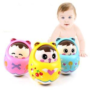 Bebé confunde Tumbler Tumbler muñeca Al ritmo del regalo de Bell recién nacido juguete de la diversión