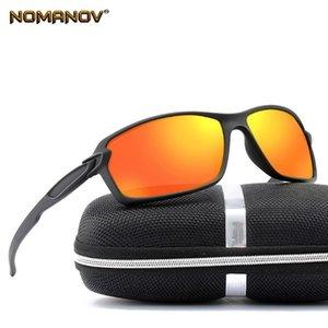 Sports Tr90 Ultralight Mirror Red Black Silver Lenses Polarized Sun Glasses Polarized Sunglasses
