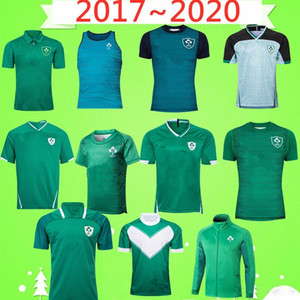 2017 2020 Irlanda Rugby League Jersey Champion National Team Rugby Home Court Away Retro juego Green League Shirt Polo Chaqueta Mundial Copa Chaleco
